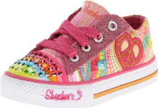Skechers Kids Shuffles Heart Sparks Sneaker (Toddler/Little Kid/Big Kid) Fashion Sneakers Shoes
