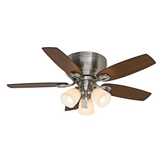 Casablanca 44 in. Durant Indoor Ceiling Fan with Light   Ceiling Fans