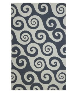Jaipur Rugs Coastal Living Indoor Outdoor CI04 Indoor/Outdoor Area Rug   Dark Blue   Rugs