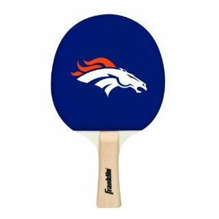Franklin Sports NFL Denver Broncos Table Tennis Paddle  Table Tennis Rackets  Sports & Outdoors