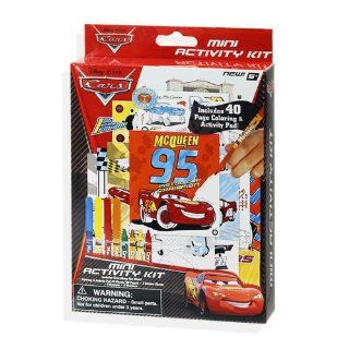 Disney Cars Create and Color Mini Activity Kit   Stickers, Coloring Pages, Markers, and Crayons