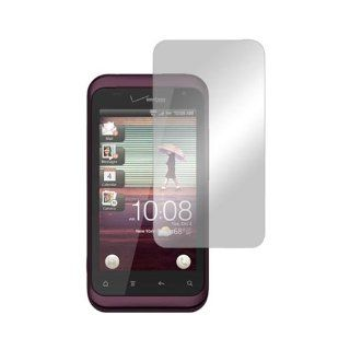 LCD Screen Protector Cover Kit Film w Mirror Effect For HTC Rhyme Cell Phones & Accessories