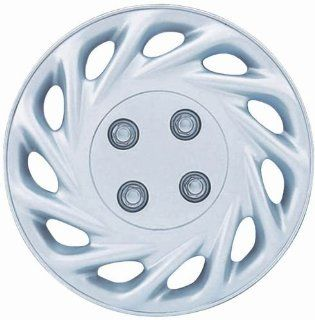 "Drive Accessories KT 858 13S/L, Ford Escort, 13"" Silver Replica Wheel Cover, (Set of 4) Automotive"