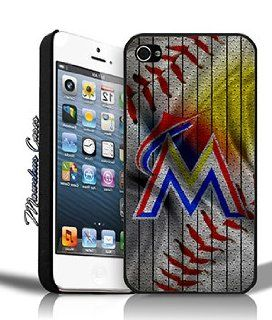 Miami Marlins MLB Baseball Custom Jersey iPhone 4/4s Case By MC Cell Phones & Accessories