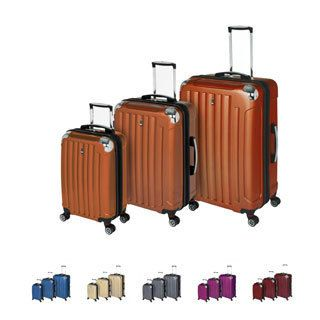 Travel Concepts Ridge 3 piece Expandable Hard side Lightweight Spinner Luggage Set