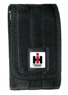 International Harvester Cell Phone Case Black Canvas with Metal Clip for Blackberry, iPhone, HTC Incredible, Eris, Hero, Aria, Legend, Desire, Motorola Droid A855, Droid 2 a955. Cell Phones & Accessories