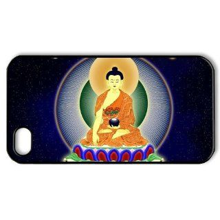 Buddha iPhone 4 4s Case Hard Plastic iPhone 4 4s Case Cell Phones & Accessories