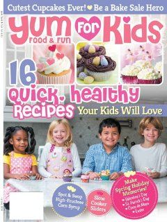 Yum Food & Fun for Kids Magazines