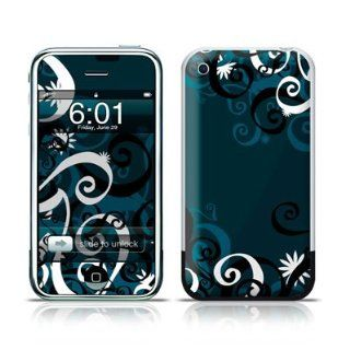 Midnight Garden Design Protective Skin Decal Sticker for Apple iPhone (2G)1st Generation Cell Phones & Accessories