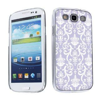 Samsung Galaxy S III S3 Hard Plastic Back Cover Case   will fit AT&T, Verizon, Sprint, T Mobile, U.S Cellular, International GSM   Lilac Retro Cell Phones & Accessories