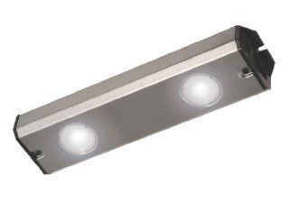Eco Light G0909 2LSS I 4 Watts 9.25 Inch Sunrise LED Light Bar, Stainless Steel finish   Under Counter Fixtures