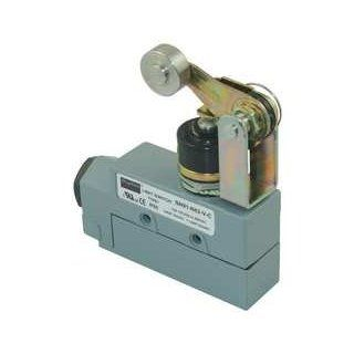 Dayton 12T913 Enclosed Limit Switch, SPDT, Horz, Top Roll Motion Actuated Switches