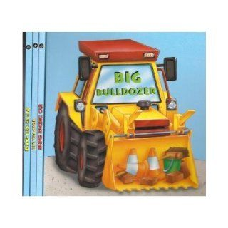 "Set of 4 Hardcover Board Books (""Big"" Series (Big Fire Engine, Big Bulldozer, Big Racing Car, Big Tractor)) Kay Barnes, Andrew Everitt Stewart Books"