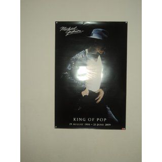 Michael Jackson King of Pop Commemorative, Music Poster Print, 24 by 36 Inch