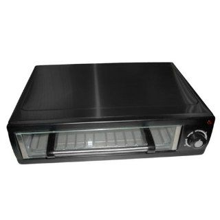 Nostalgia Electrics PBO 220BLK Countertop Pizza Baking Oven Toaster Ovens Kitchen & Dining