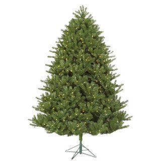 7.5' Pre Lit Hanover Pine Artificial Christmas Tree   Warm White LED Lights