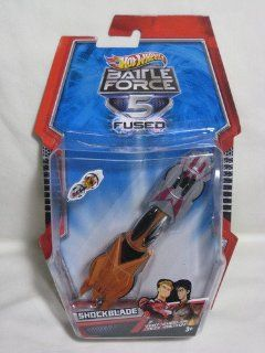 Shockblade Hot Wheels Battle Force 5 Scale 143 Toys & Games