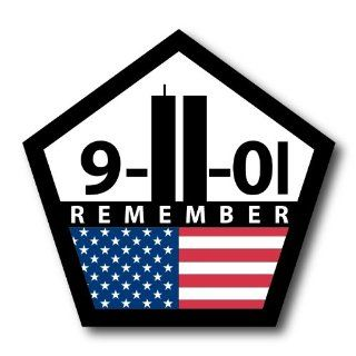 Remember 911 REFLECTIVE Decal Automotive