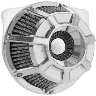 Arlen Ness Inverted Series Air Cleaner Kit   Bevelled   Chrome 18 932 Automotive