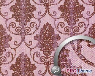 EDEM 937 35 Imperial vintage baroque damask non woven wallpaper red violet antique pink silver  10, 65 sqm (114 sq ft)