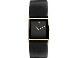 Danish Design IV11Q938 Stainless Steel Case Black Leather Band Black Dial Women's Watch at  Women's Watch store.