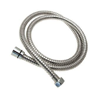 Silvery Metal Plated Plastic Flexible Shower Hose 1.2m   Shower Dispensers