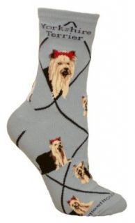 Yorkshire Terrier Puppy Dog Breed Animal Socks 9 11 Casual Socks