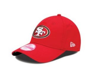 NFL San Francisco 49Ers Women's Sideline 940 Cap, Red  Sports Fan Novelty Headwear  Clothing