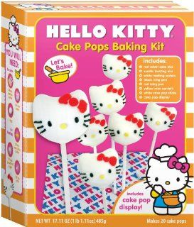 Brand Castle   Hello Kitty Cake Pop Baking Kit, Multi colored Toys & Games