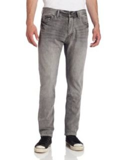 Calvin Klein Jeans Men's Tapered Jean in Grey, Grey, 34x32 at  Men�s Clothing store