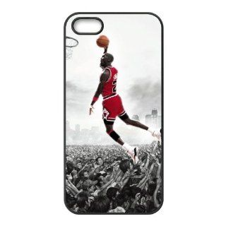 Hard case NBA Super Star Air Jordan Michael Jordan Accessories Apple Iphone 5S Designer TPU Case Cover Protector Bumper Cell Phones & Accessories