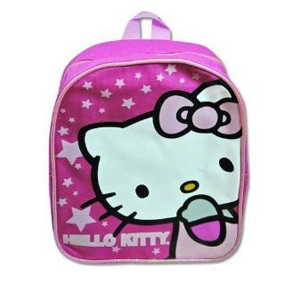 "Hello Kitty 10"" Pink Stars Mini Backpack   Clearance Toys & Games"