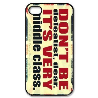 Custom Downton Abbey Cover Case for iPhone 4 4S PP 0480 Cell Phones & Accessories