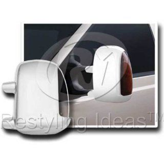 99 07 Ford F250/F350/F450 Super Duty/00 05 Ford Excursion Chrome Mirror Cover W/Hole For Truning Light Automotive