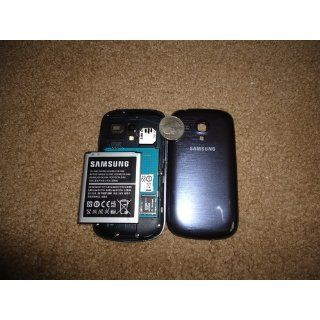 Samsung Galaxy S3 GT i8190 Mini Blue 8GB factory Unlocked 3G 900/1900/2100 Cell Phones & Accessories