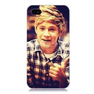 Ecell   NIALL HORAN ONE DIRECTION 1D BOY BAND BACK CASE COVER FOR APPLE iPHONE 4 4S Cell Phones & Accessories