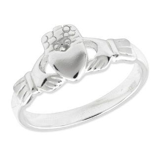 Sterling Silver Claddagh Ring Jewelry