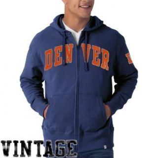 NFL Denver Broncos Men's Striker Full Zip Jacket  Clothing