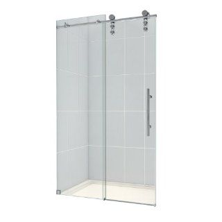 DreamLine SHDR 6248760 08 Enigma Z Fully Frameless Sliding Shower Door Hardware, 44 to 48 Inch, Polished Stainless Steel