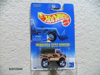 Mercedes Benz Unimog 1993 Hot Wheels #239 Toys & Games