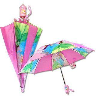 Disney Princess Cinderella Rapunzel Tiana Umbrella Castle Molded 3D Handle Toys & Games