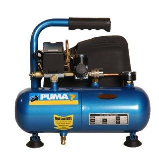 Puma 1 Gallon Portable Oil Free Hot Dog Air Compressor Automotive