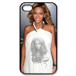 Custom Sexy Beyonce Cover Case for iPhone 4 4s LS4 981 Cell Phones & Accessories