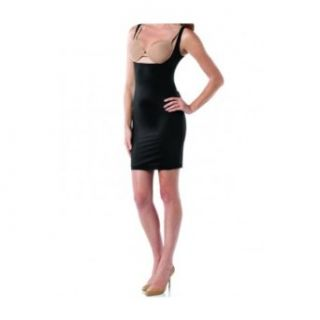 Spanx Women's Open Bust Full Spanx Slip S Black