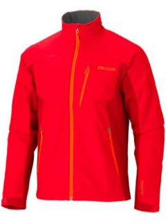 Marmot Prodigy Soft Shell Jacket   Windstopper� (For Men)   ROCKET RED/TEAM RED Sports & Outdoors
