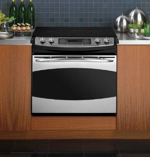 "GE PD968SPSS Profile 30"" Stainless Steel Electric Smoothtop Range   Convection Appliances"
