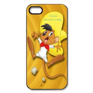 Mystic Zone Speedy Gonzales iPhone 5 Case for iPhone 5 Cover Cartoon Fits Case WSQ0101 Cell Phones & Accessories