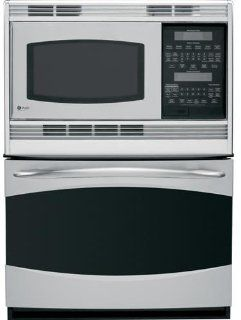 "GE PT970SRSS Profile 30"" Stainless Steel Electric Combination Wall Oven   Convection Appliances"
