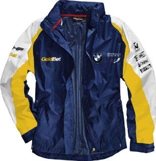 BMW Genuine Motorcycle Motorrad Motorsport jacket (unisex)   Color Blue / White / Yellow   Size XS Automotive