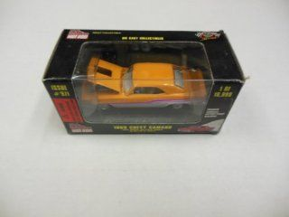 1969 Chevy Camaro Die Cast Car 157 Scale Racing Champions Hot Rod Issue #971 1 of 19,998